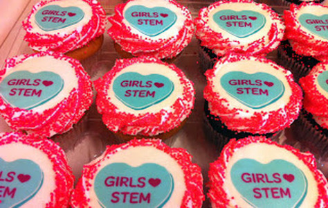 women in science cupcakes, science cupcakes