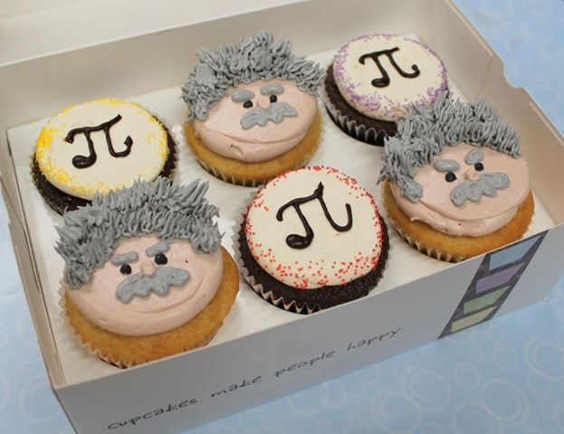 science cupcakes